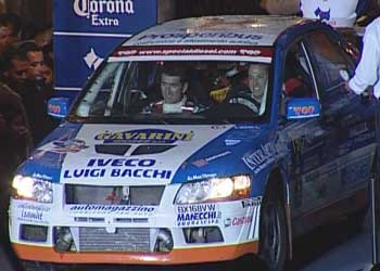 Marrini al rally del Messico